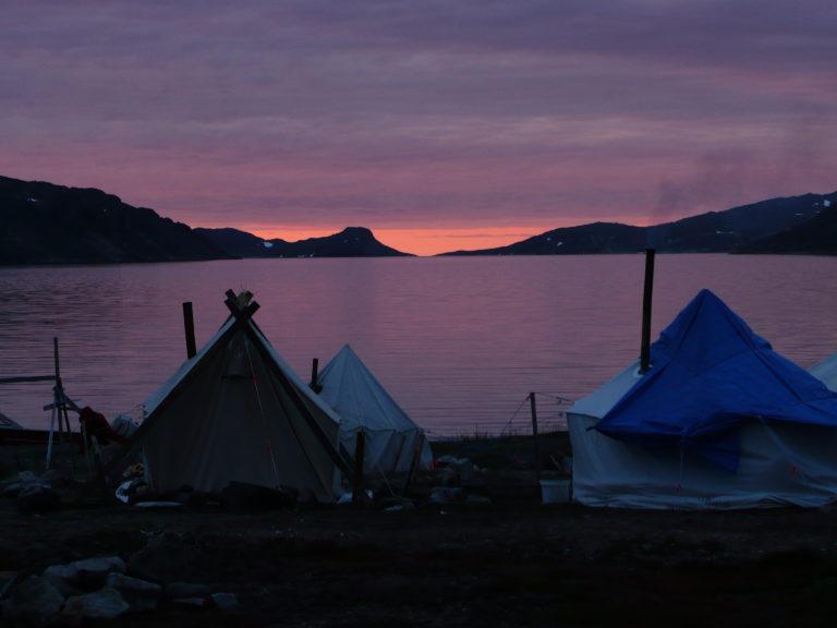 Torngats Montains National Park Base Camp, Saglek Fjord, Labrador