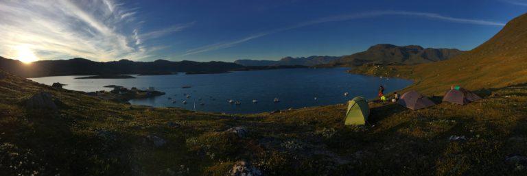 camping spot, Kapisillit